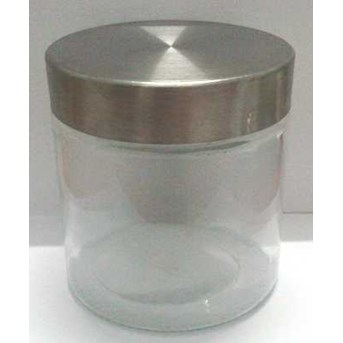 Toples Bulat tutup stainless