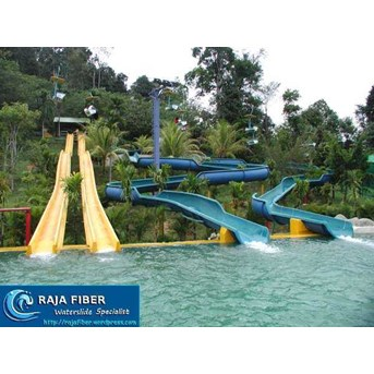 Water Slides Down Hill