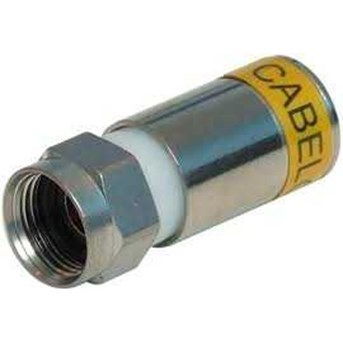 F CONNECTOR RG-6 COMPRESSION