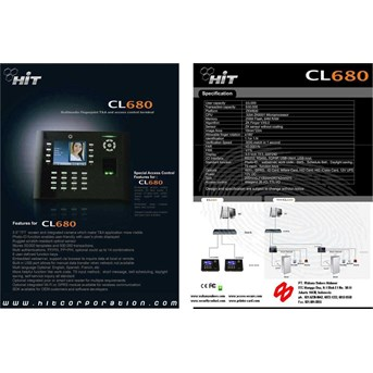 Fingerprint With camera ICON MULTI MEDIA ( Finger, Card & Keypad ) With Colour LCD