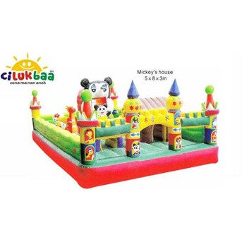 MICKEY HOUSE 5x8x3 M READY STOCK