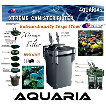 RESUN External Filter Xtreme series Filter Akuarium External RESUN EF-2800, EF-2800U