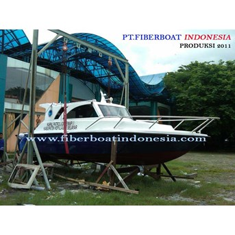 SPEED BOAT PATROLI SERI FBI-0822-XB