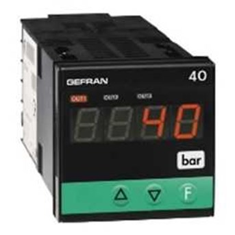 GEFRAN Indicator, Type: 4A 4B 48 FORCE, PRESSURE and DISPLACEMENT TRANSDUCERS INDICATOR with INPUT for STRAIN-GAUGE or POTENTIOMETER