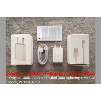 Charger Apple iPhone5 / iPod Touch 5gen Ori 100%