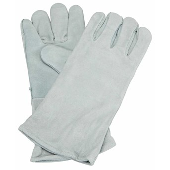 JUAL LEATHER WELDING GLOVES 14 inch kualitas no 1