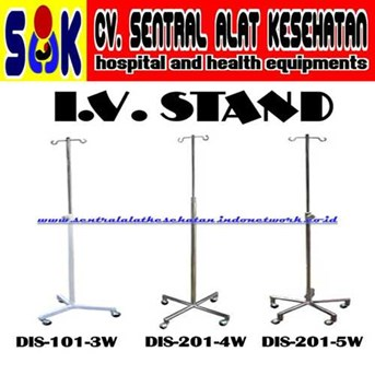 TIANG INFUS PASIEN : : PATIENT INFUSION STAND : : PATIENT I.V. STAND