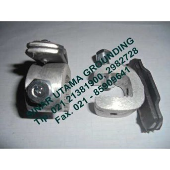 ALUMINIUM TAPE CLAMP 3x25 | BEAM CLAMP