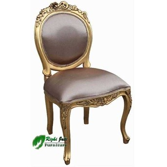French Gold- Dining Chair l French Furniture l Painted Furniture l antique furniture indonesia | french furniture indonesia l Perabot Hotel