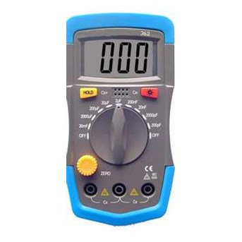 XHST36D 3 1/ 2 DIGITAL MULTIMETER