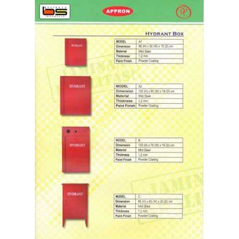 Appron Hydrant Box Type C Outdoor