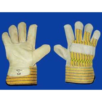 CIG Hand Protection Work Gloves - Leather Palm Glove