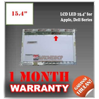 LCD PANEL SCREEN NOTEBOOK/ NETBOOK/ LAPTOP 15.4 FOR APPLE, DELL SERIES ORIGINAL/ ASLI