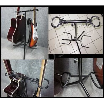 Stand Guitar Double Head