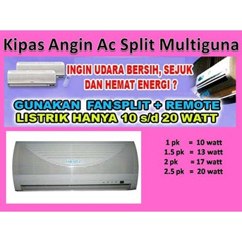 Kipas Angin Ac Split Multiguna