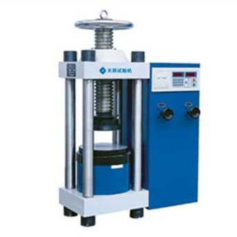 Tenson Digital Display Type Building Material Hydraulic Compression Testing Machine YES-2000J