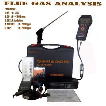 FLUE GAS ANALYSER SENSONIC 1400 | TOKO READY STOCK