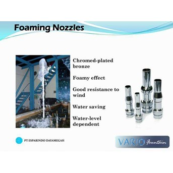 Foaming Nozzle