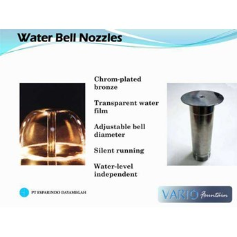 Waterbell Nozzle