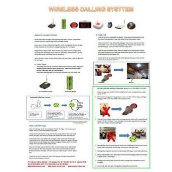 Calling System Wireless ( Smart service system ) SYSCALL