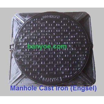 Manhole Cover Cast Iron ( Type Engsel)
