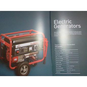 Electric generators / Genset / Diesel