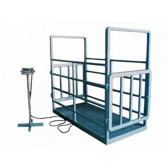 Animal Scale with Cage Normal Door