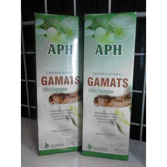 SHAMPOO HERBAL GAMATS ( PLUS PEGAGAN)
