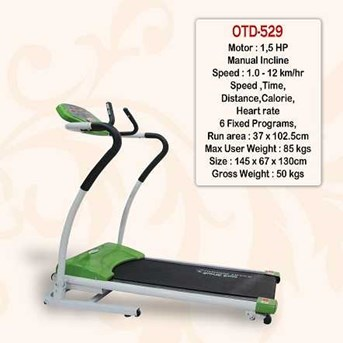 Treadmill Electric 1 Fungsi-OTD529 mOTOR 1, 5hP