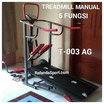 Treadmill Manual 5 Fungsi Anti Goress - 003AG