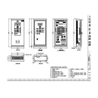 JASA DRAWING / DRAFTER / GAMBAR ELECTRICAL PANEL LISTRIK ... on