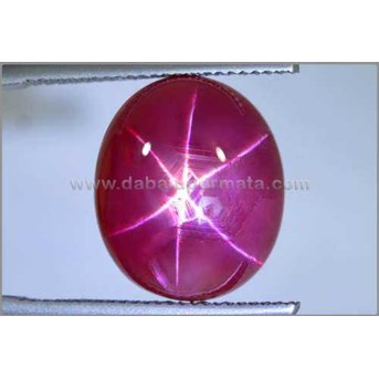 Elegant Sharp Star Red RUBY - BRS 088