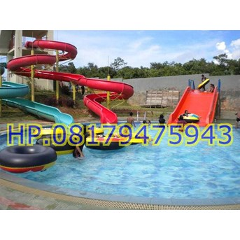 Waterslide Waterpark Murah