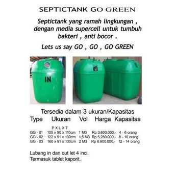 Bio Septictank Go Green