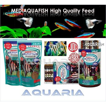 Pakan Ikan Hias MEDIAQUAFISH Fish Food from Japan