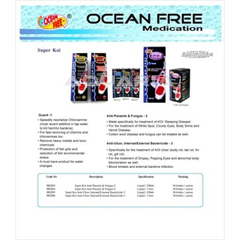 Super Koi Ocean Free Medication