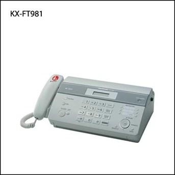 Faximile KX-FT981 Panasonic