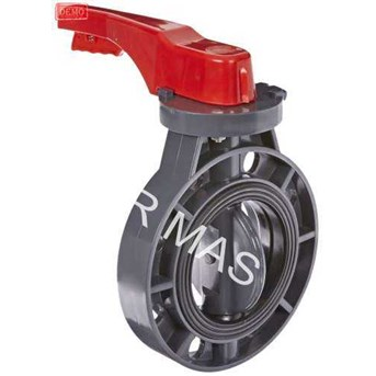 BUTTERFLY VALVE PVC HANDLE / LEVEL TYPE