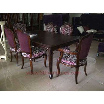 Meja Makan Antik Set ( Antique Dining Set)