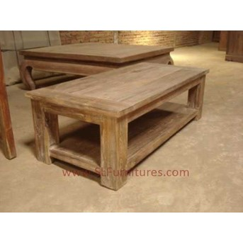 JUAL FURNITURE ANTIK JEPARA: Meja Kopi Kayu Jati Bekas ( Recycled Teak Coffee Table)