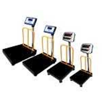Bench Scale HENHERR XD LED Double Display with Fence