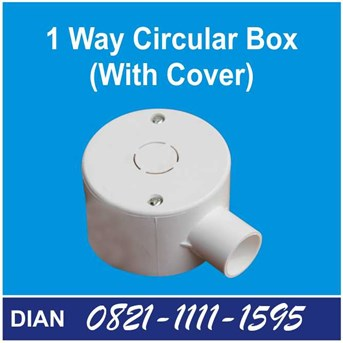AMD 1 WAY CIRCULAR BOX WITH COVER