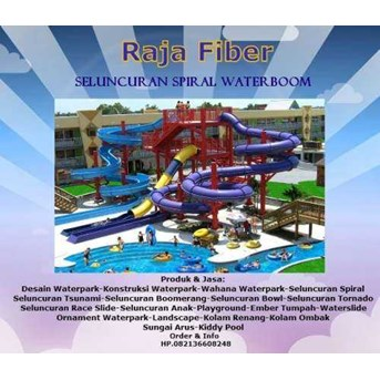 Seluncuran Spiral Waterboom