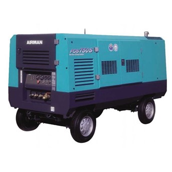 sewa - rental mesin air compressor airman 750 cfm