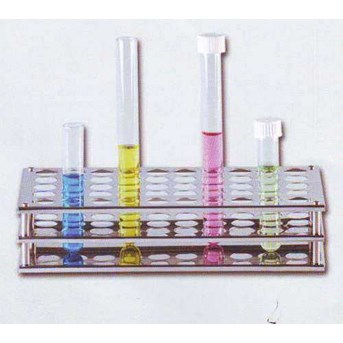 Test Tube Racks Stainless Steel, ISOLAB