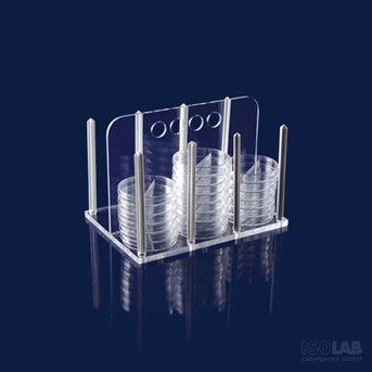 Petri Dishes Stand, ISOLAB