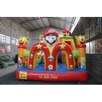 "SLIDING BOUNCER-RUMAHBALON-ISTANABALON- "" Mac MARIO"" 4x6M"