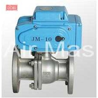 ELECTRICAL BALL VALVE SUS FLANGE END