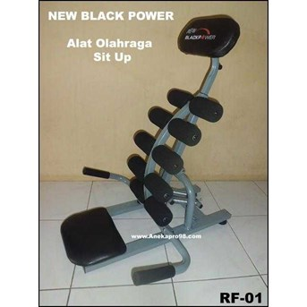 NEW BLACK POWER ( ALAT OLAHRAGA SIT UP PEMBENTUK TUBUH SIX PACK)