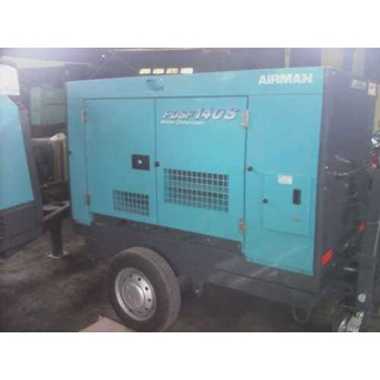 sewa - rental mesin air compressor Diesel airman PDSF 140S cfm 10 bar